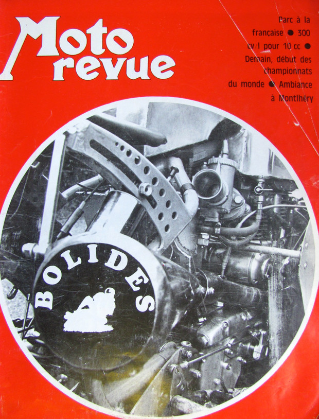 Velocette racine by Moto Revue in 1970 presented by Machines et Moteurs.